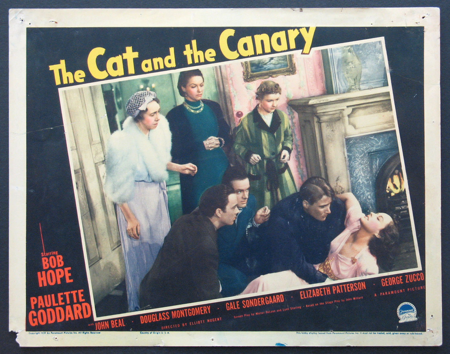 CAT AND THE CANARY, THE @ FilmPosters.com