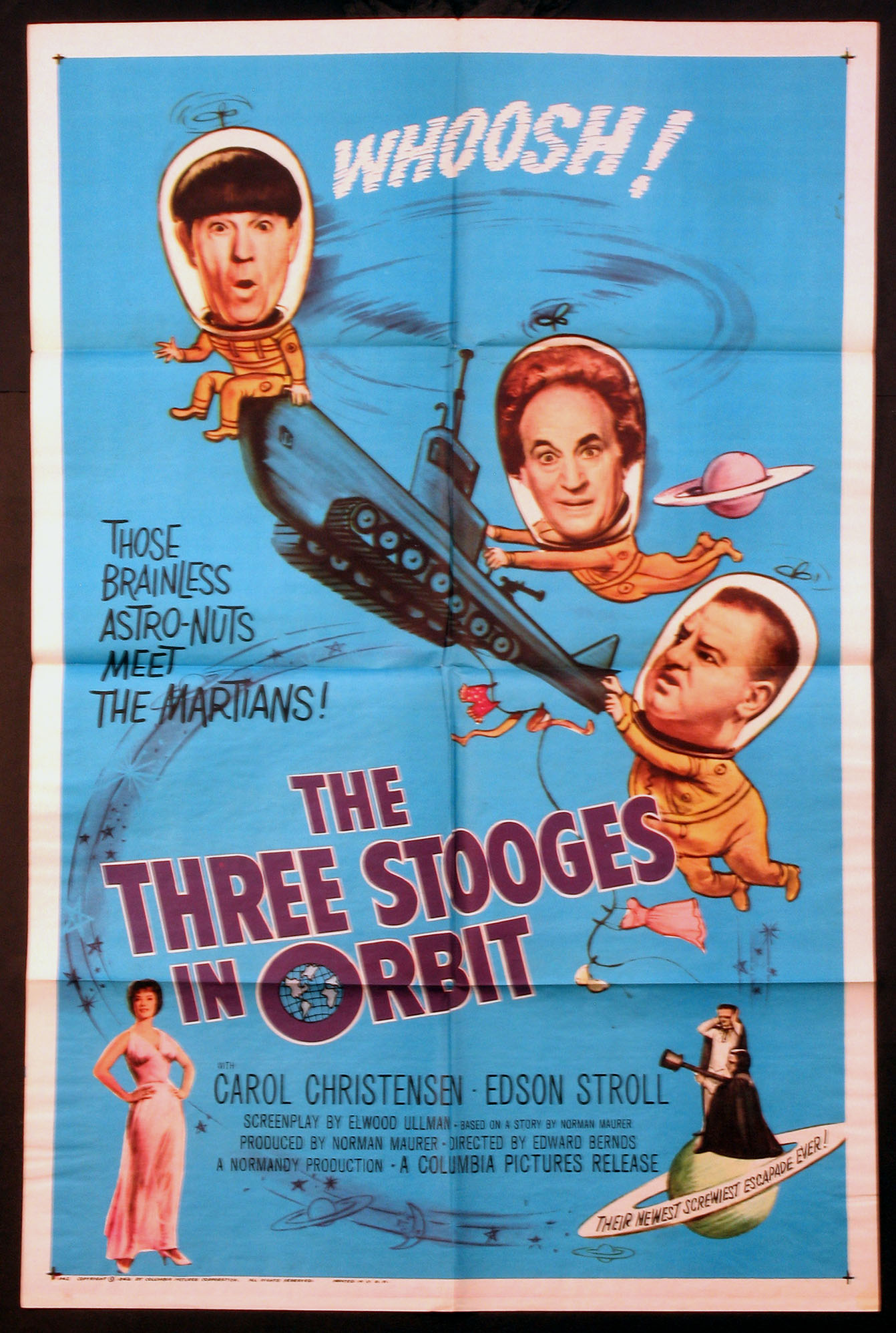THREE STOOGES IN ORBIT @ FilmPosters.com
