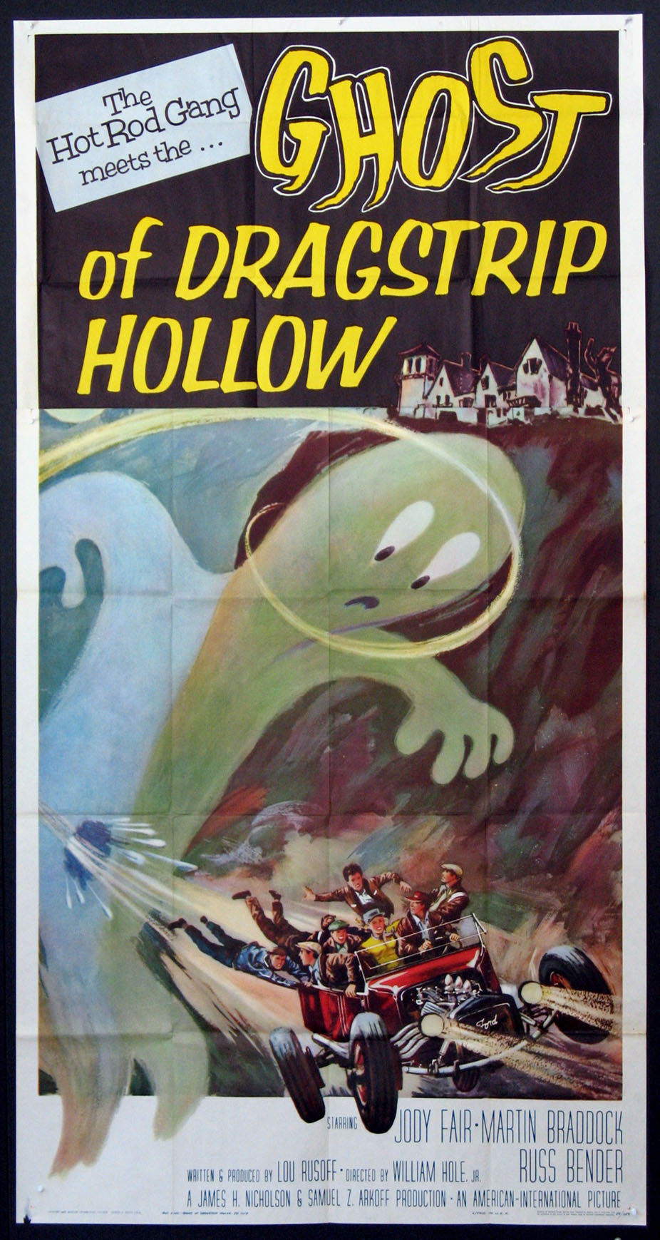 GHOST OF DRAGSTRIP HOLLOW @ FilmPosters.com