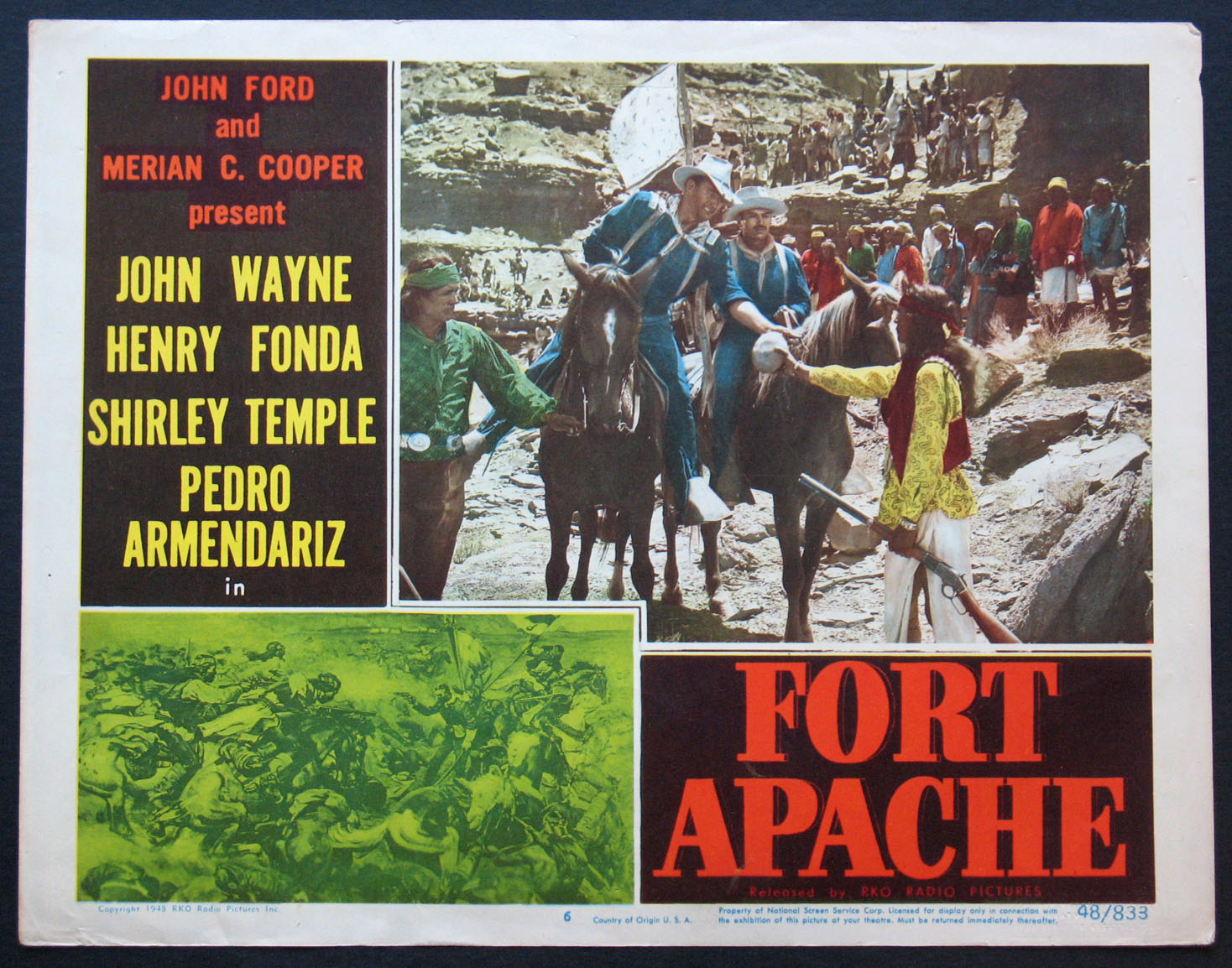 FORT APACHE @ FilmPosters.com