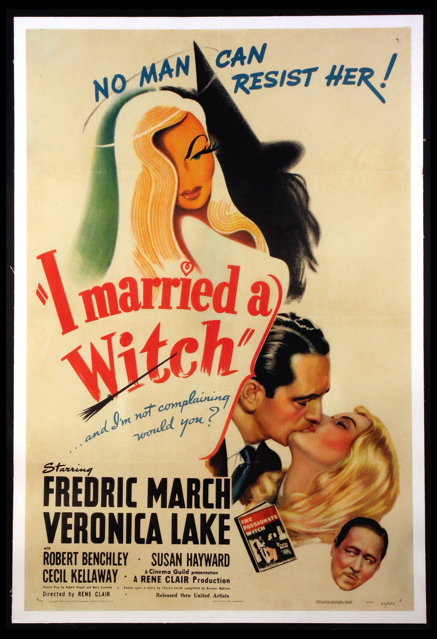 I MARRIED A WITCH @ FilmPosters.com