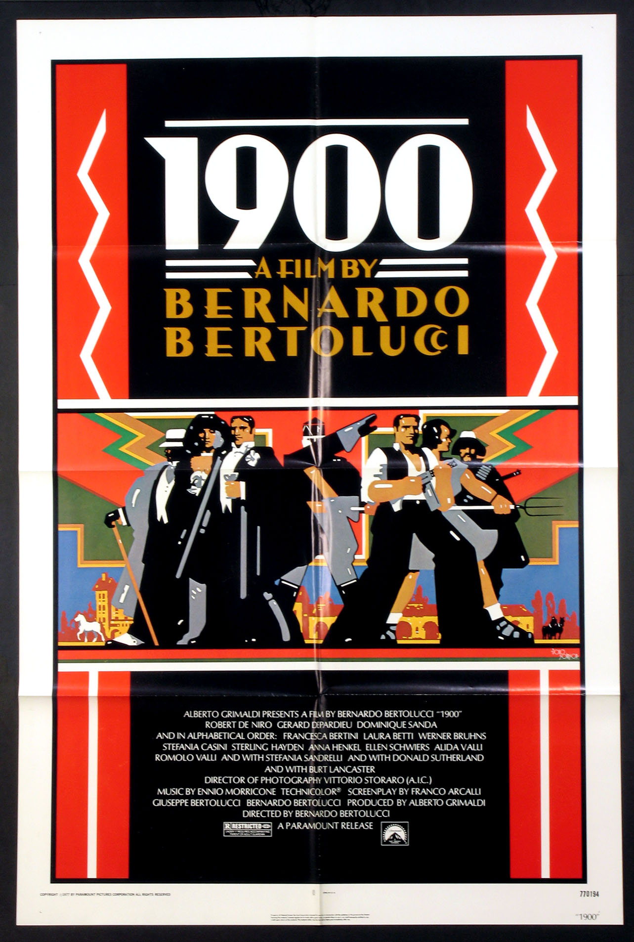 1900 (Nineteen Hundred) @ FilmPosters.com