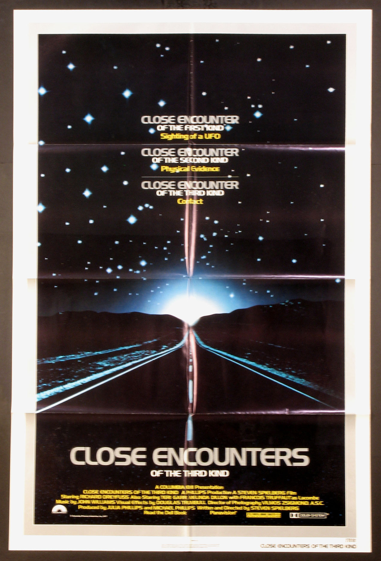 CLOSE ENCOUNTERS OF THE THIRD KIND @ FilmPosters.com
