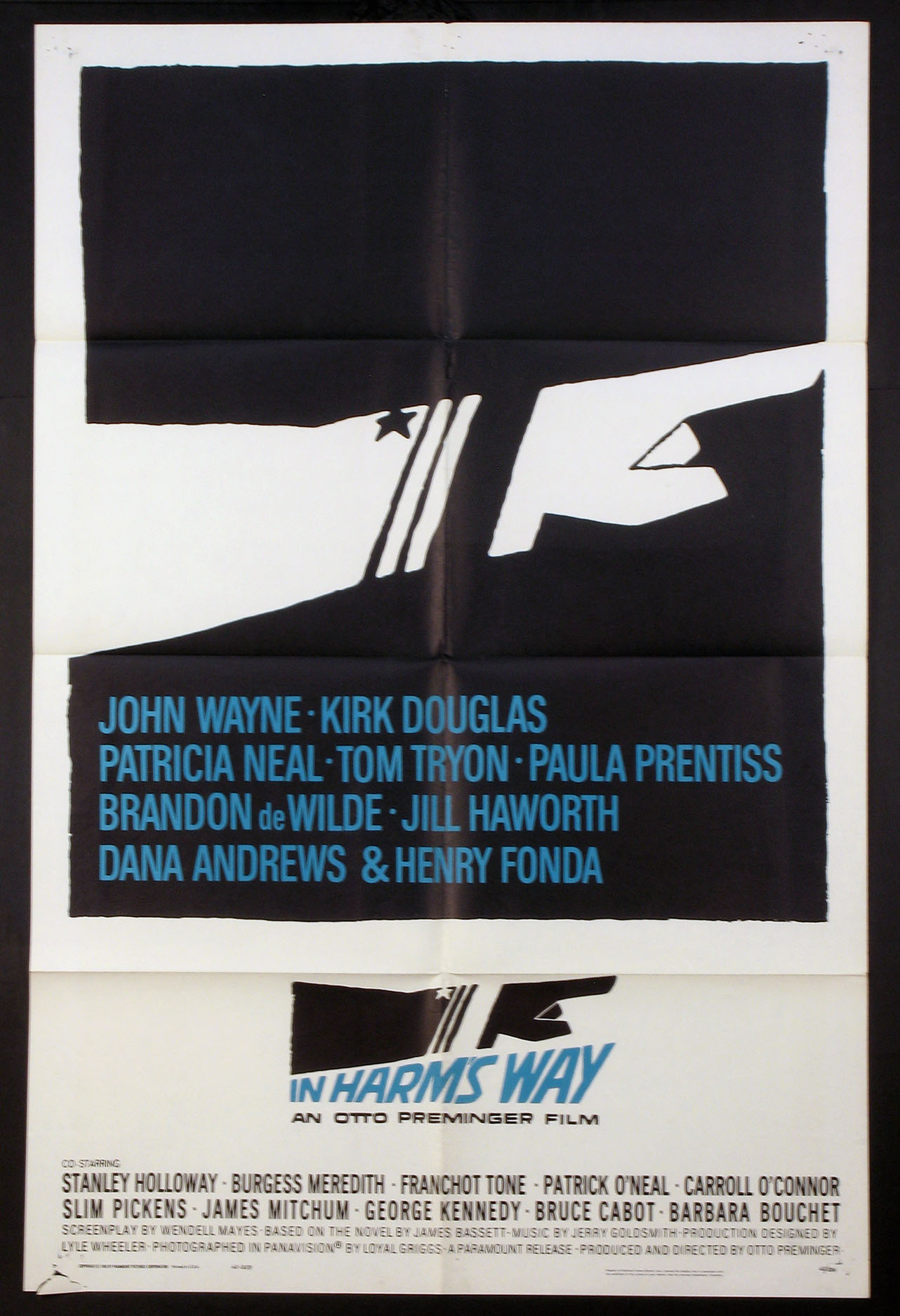 IN HARM'S WAY (In Harms Way) @ FilmPosters.com