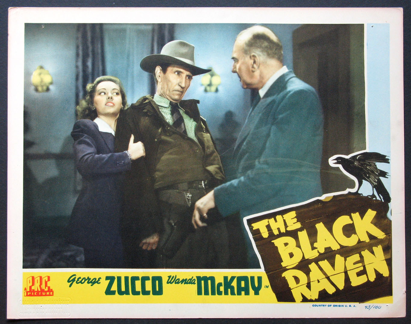 BLACK RAVEN, THE @ FilmPosters.com