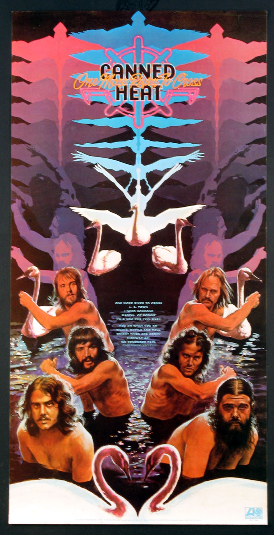 CANNED HEAT ONE MORE RIVER TO CROSS ORIGINAL PROMOTIONAL POSTER @ FilmPosters.com