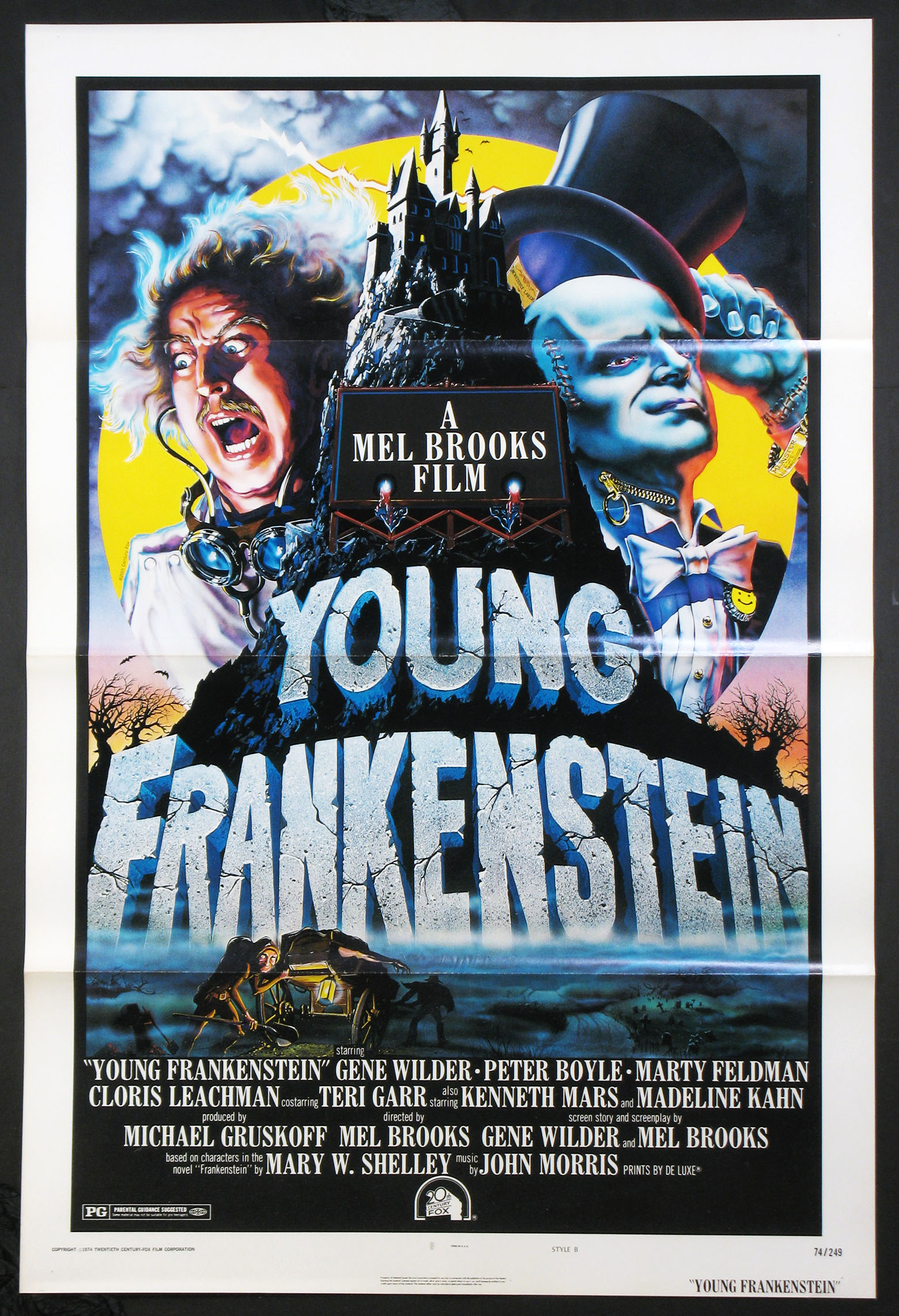 YOUNG FRANKENSTEIN @ FilmPosters.com