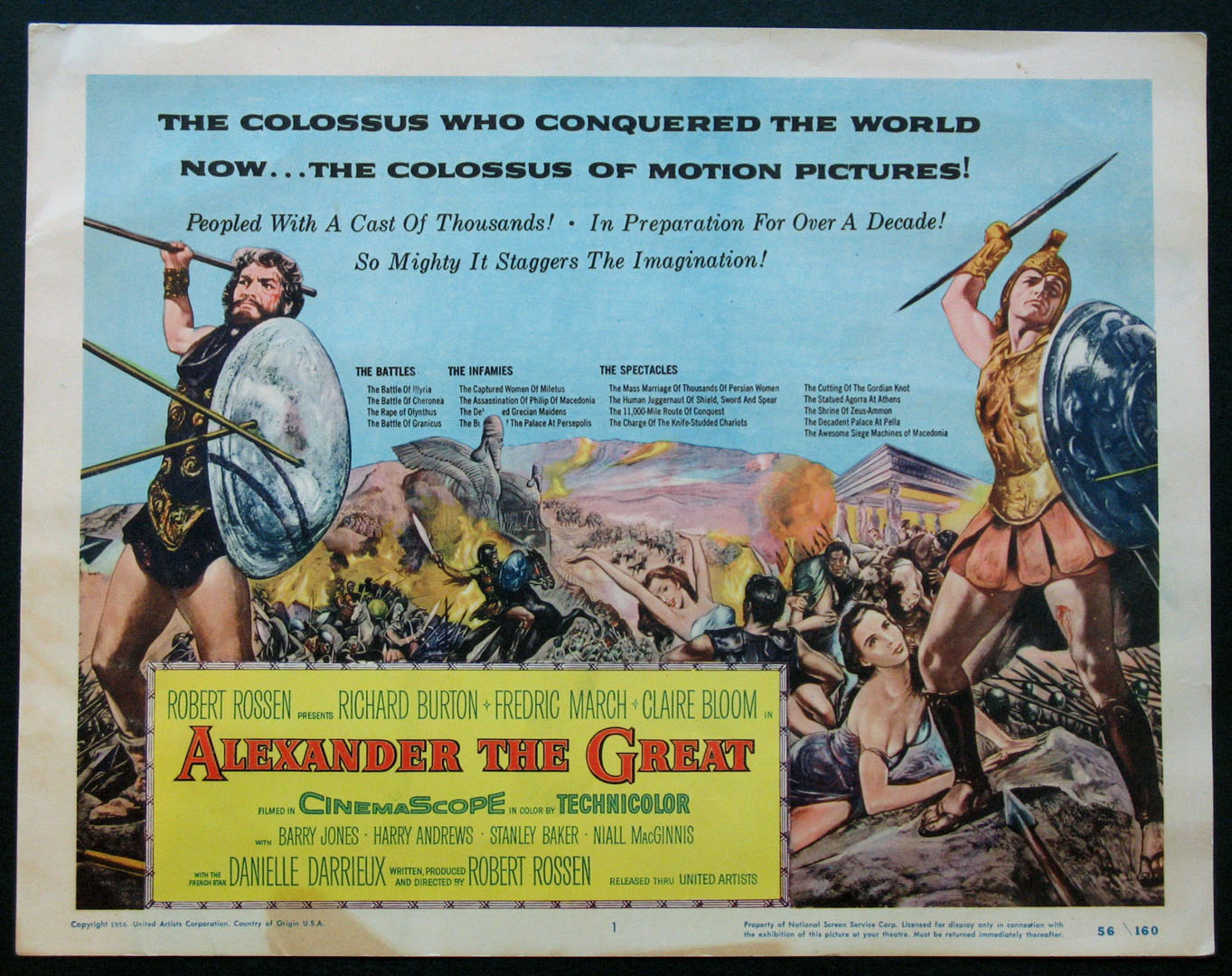 ALEXANDER THE GREAT @ FilmPosters.com