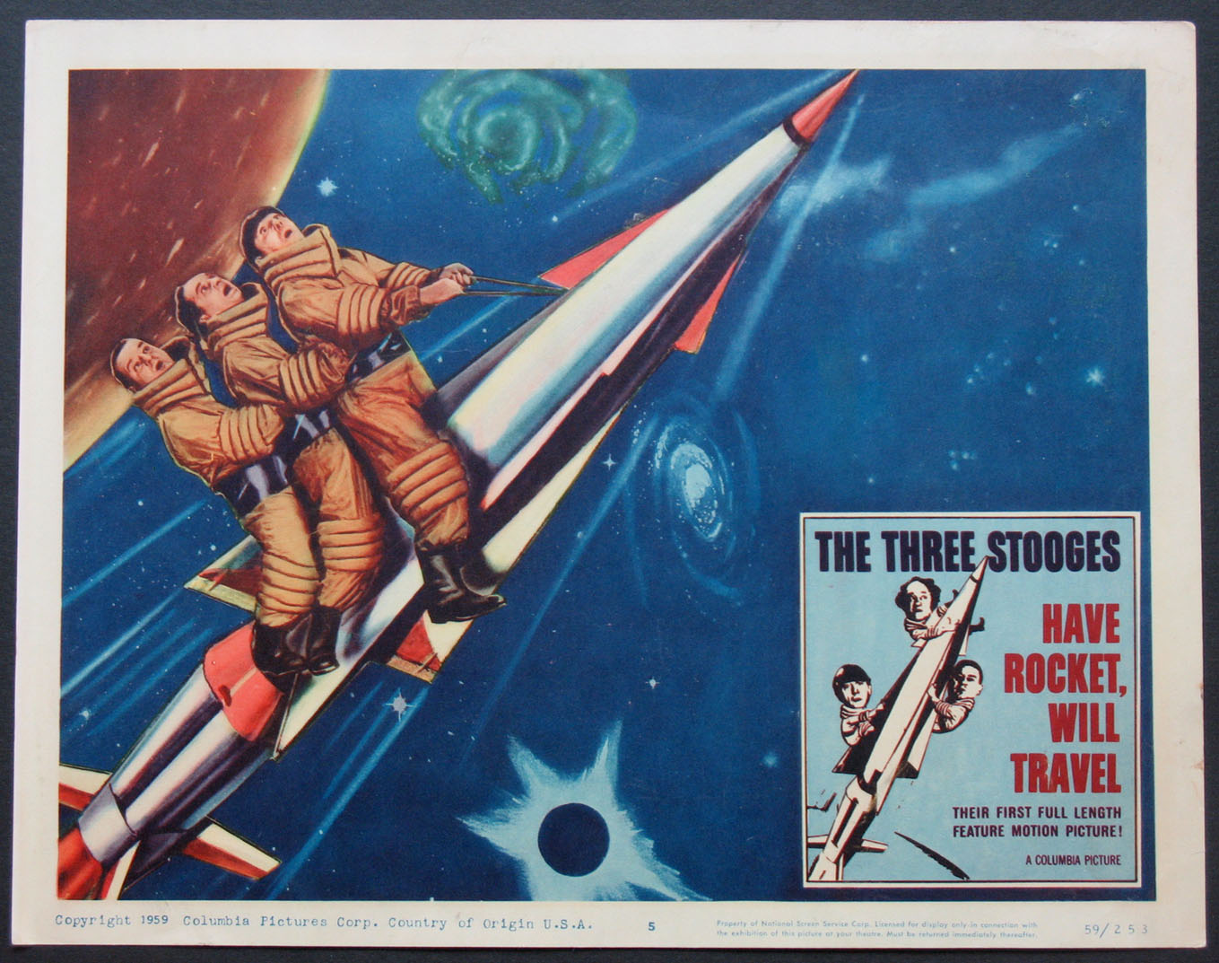 HAVE ROCKET WILL TRAVEL @ FilmPosters.com