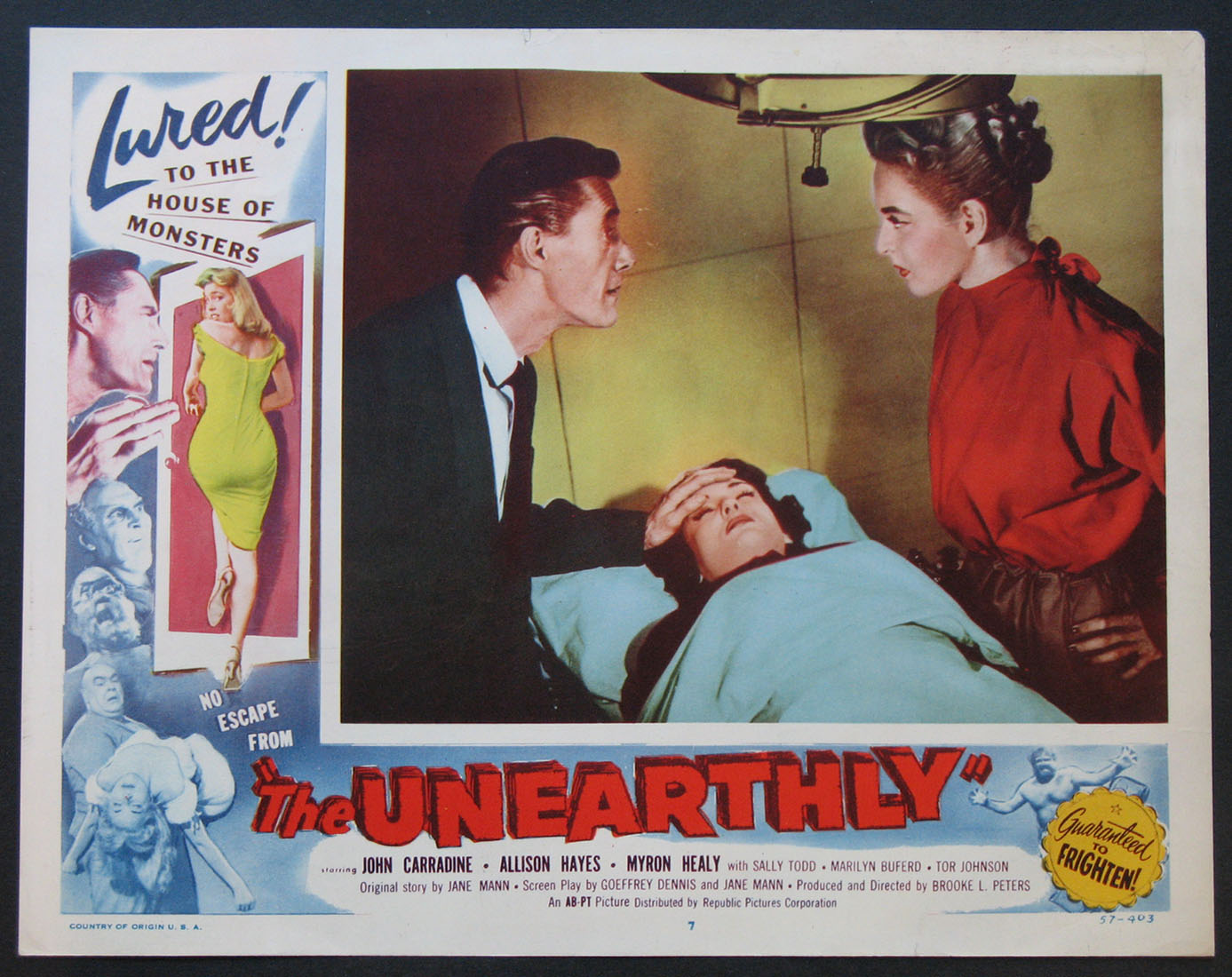 UNEARTHLY, THE (The Unearthly) @ FilmPosters.com