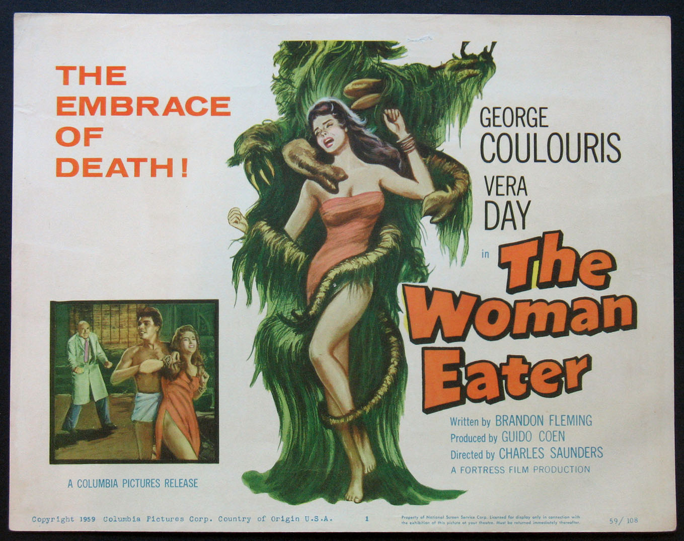 WOMAN EATER, THE @ FilmPosters.com