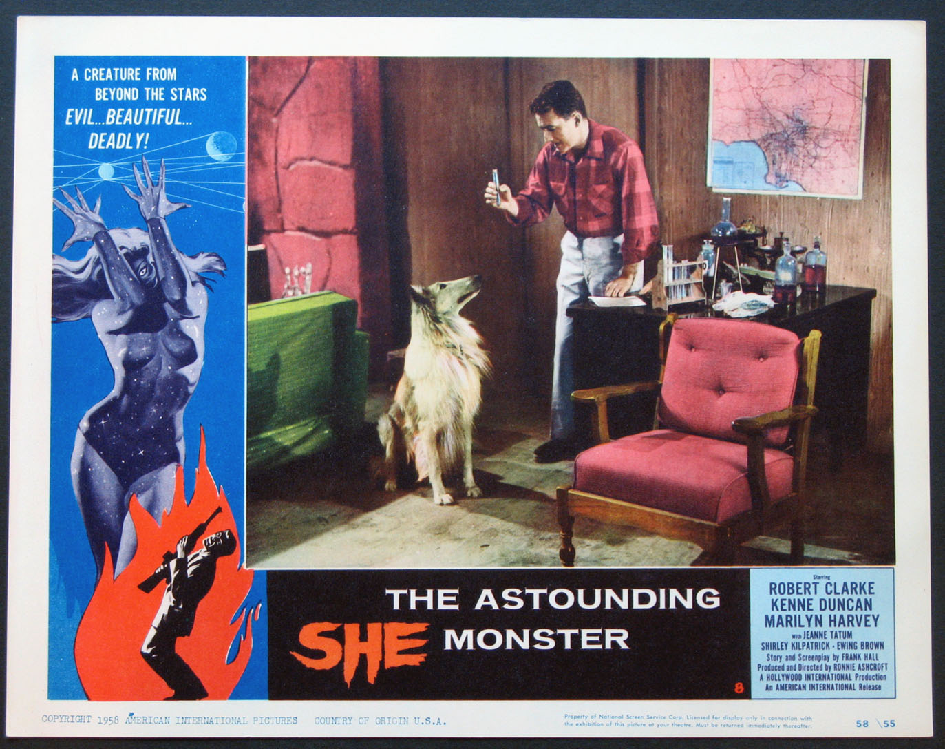 ASTOUNDING SHE MONSTER @ FilmPosters.com