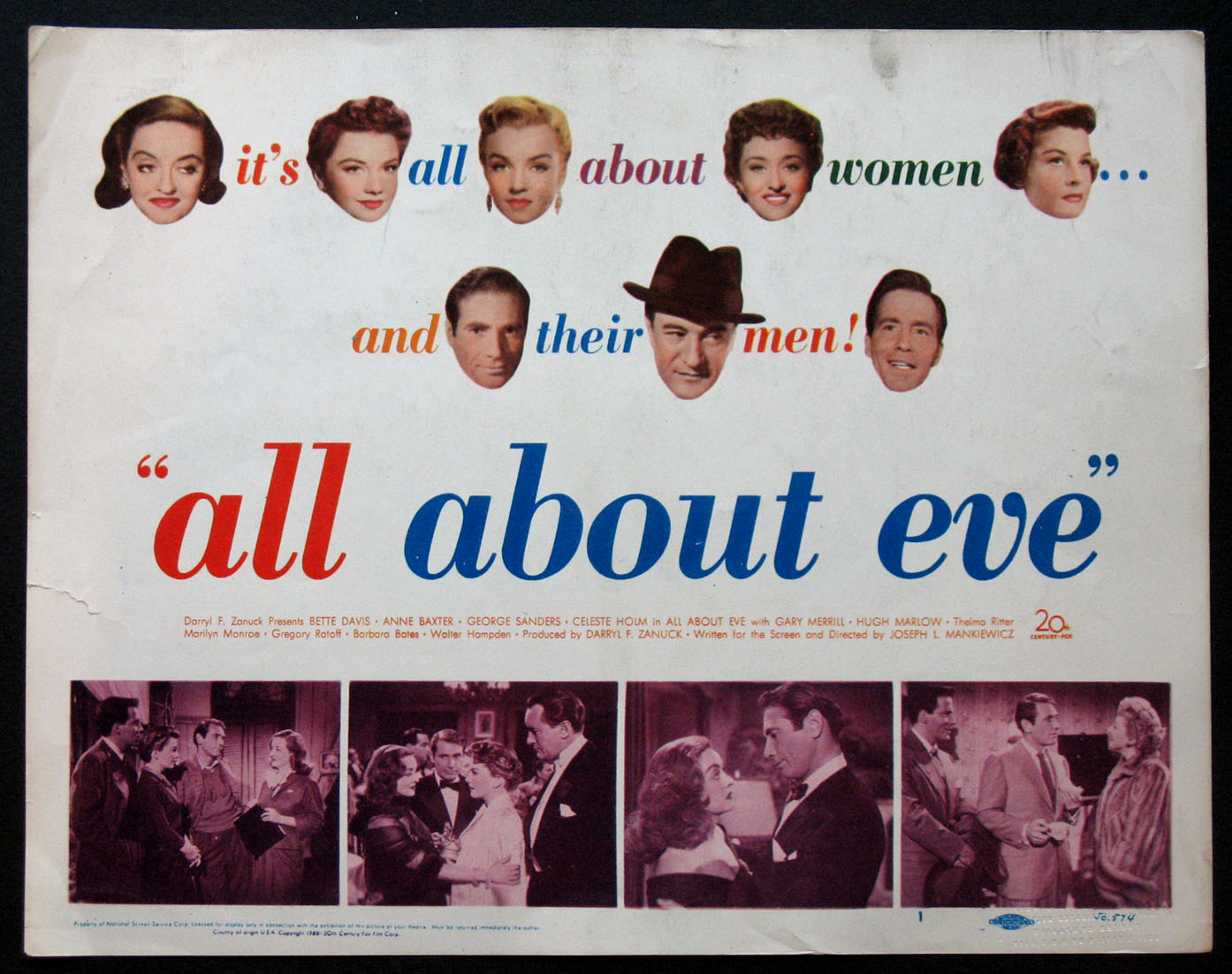 ALL ABOUT EVE @ FilmPosters.com