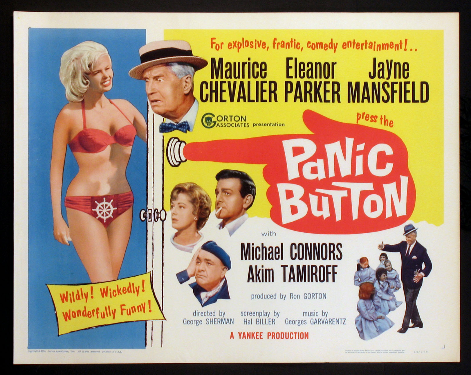 PANIC BUTTON @ FilmPosters.com