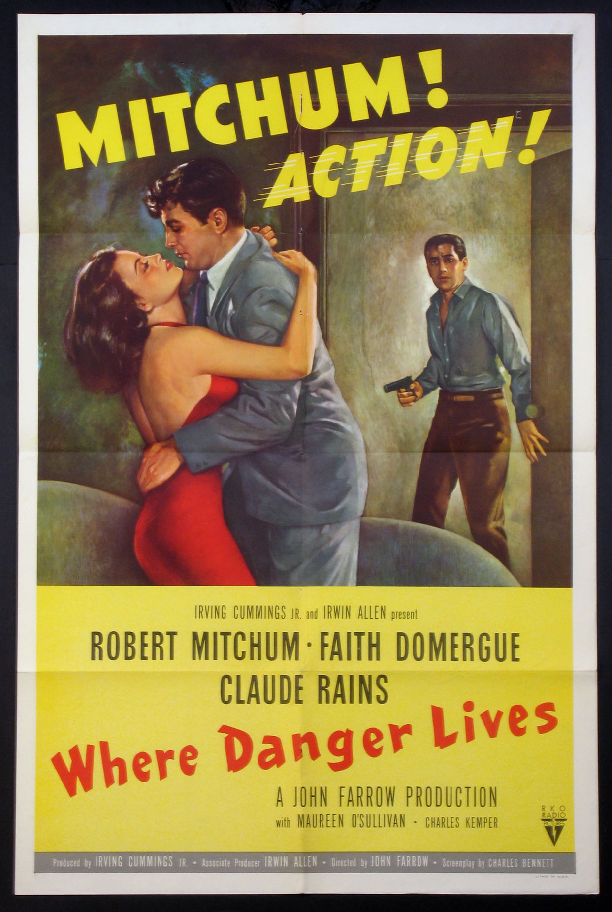 WHERE DANGER LIVES @ FilmPosters.com