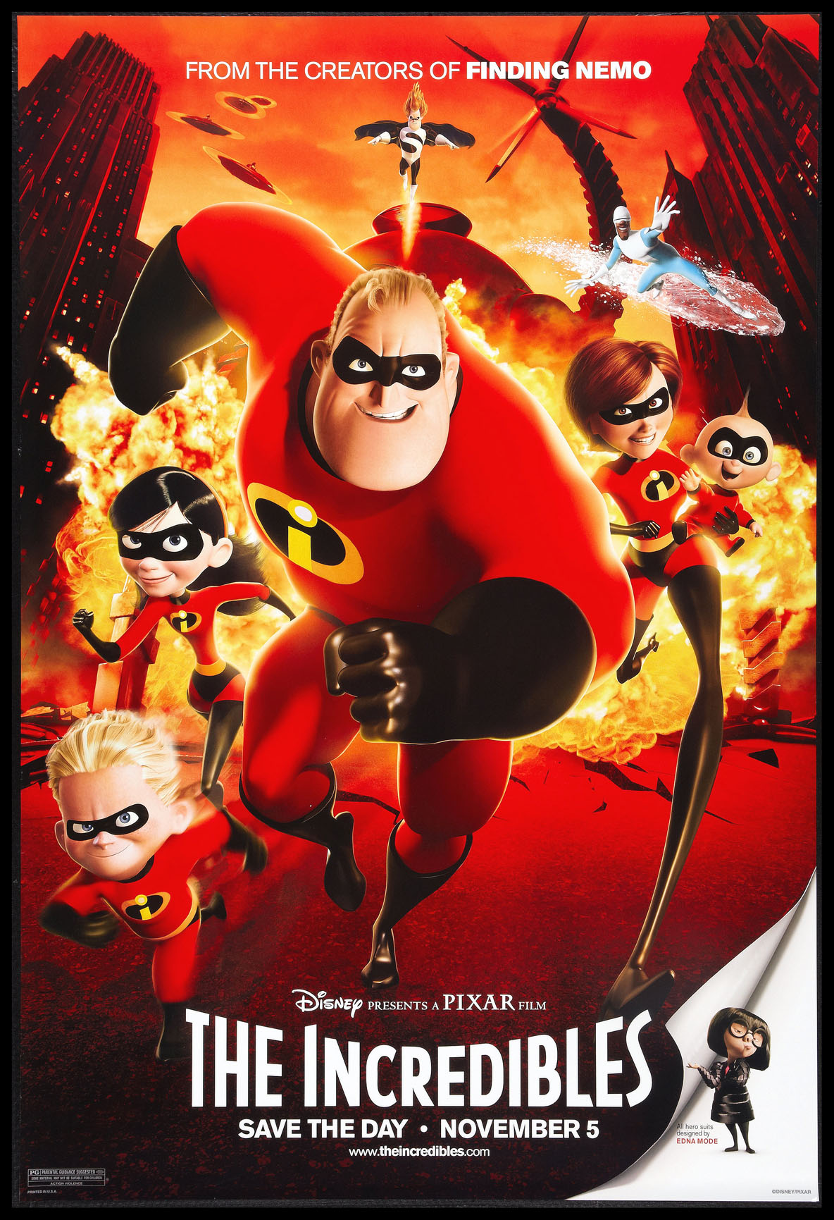 INCREDIBLES, THE (The Incredibles) @ FilmPosters.com