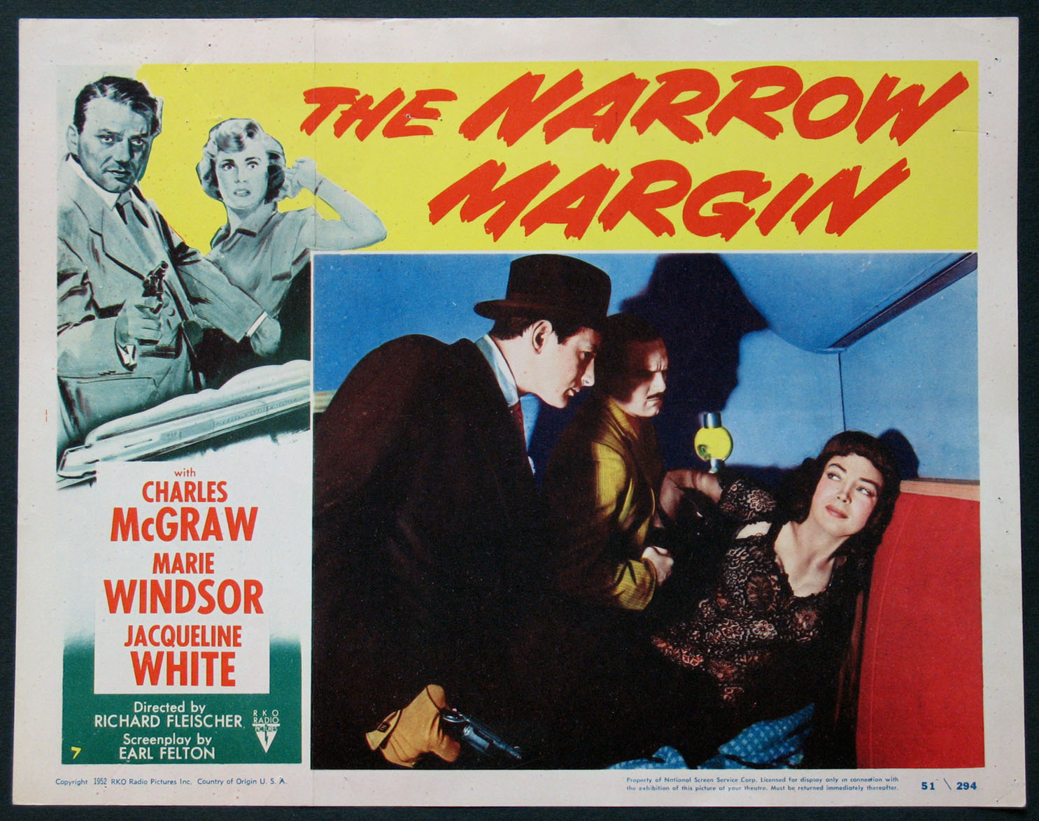 NARROW MARGIN @ FilmPosters.com