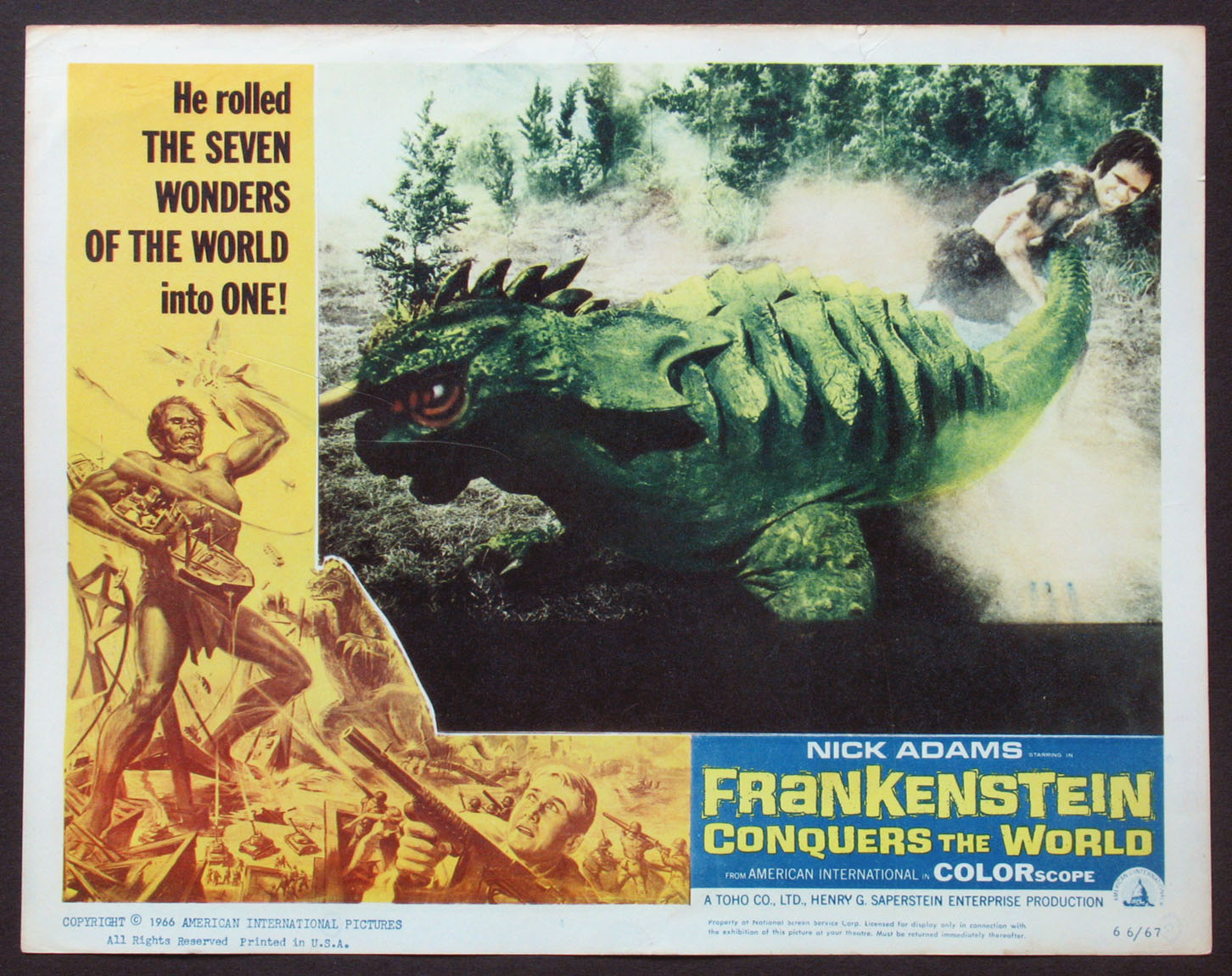 FRANKENSTEIN CONQUERS THE WORLD @ FilmPosters.com