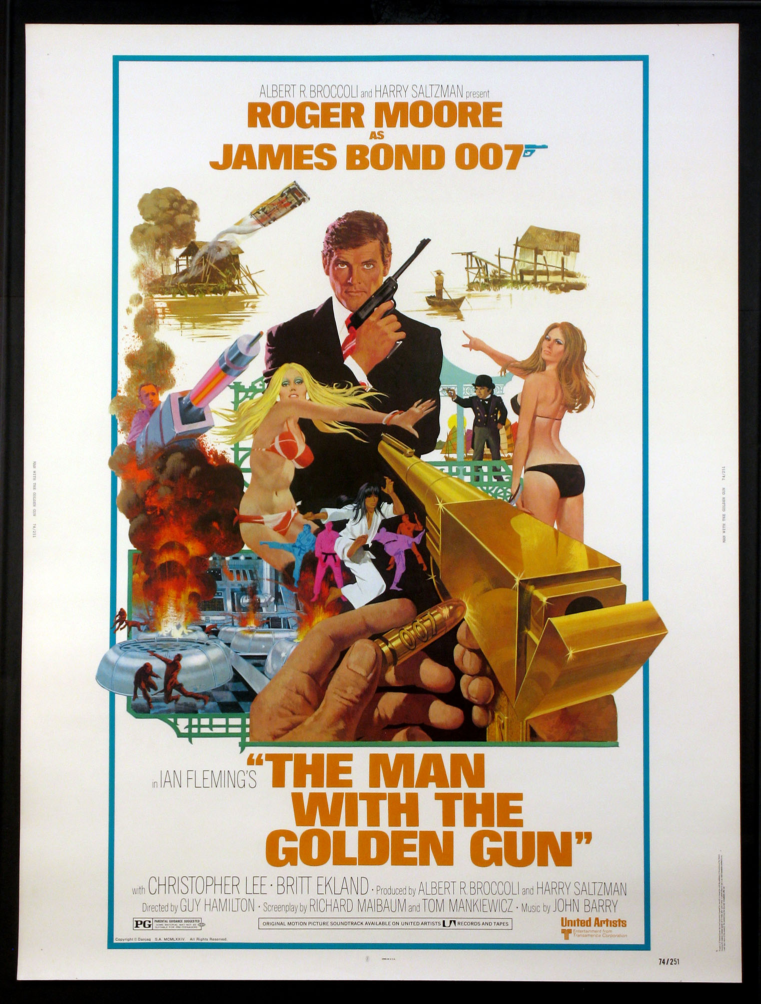 MAN WITH THE GOLDEN GUN, THE (James Bond) @ FilmPosters.com