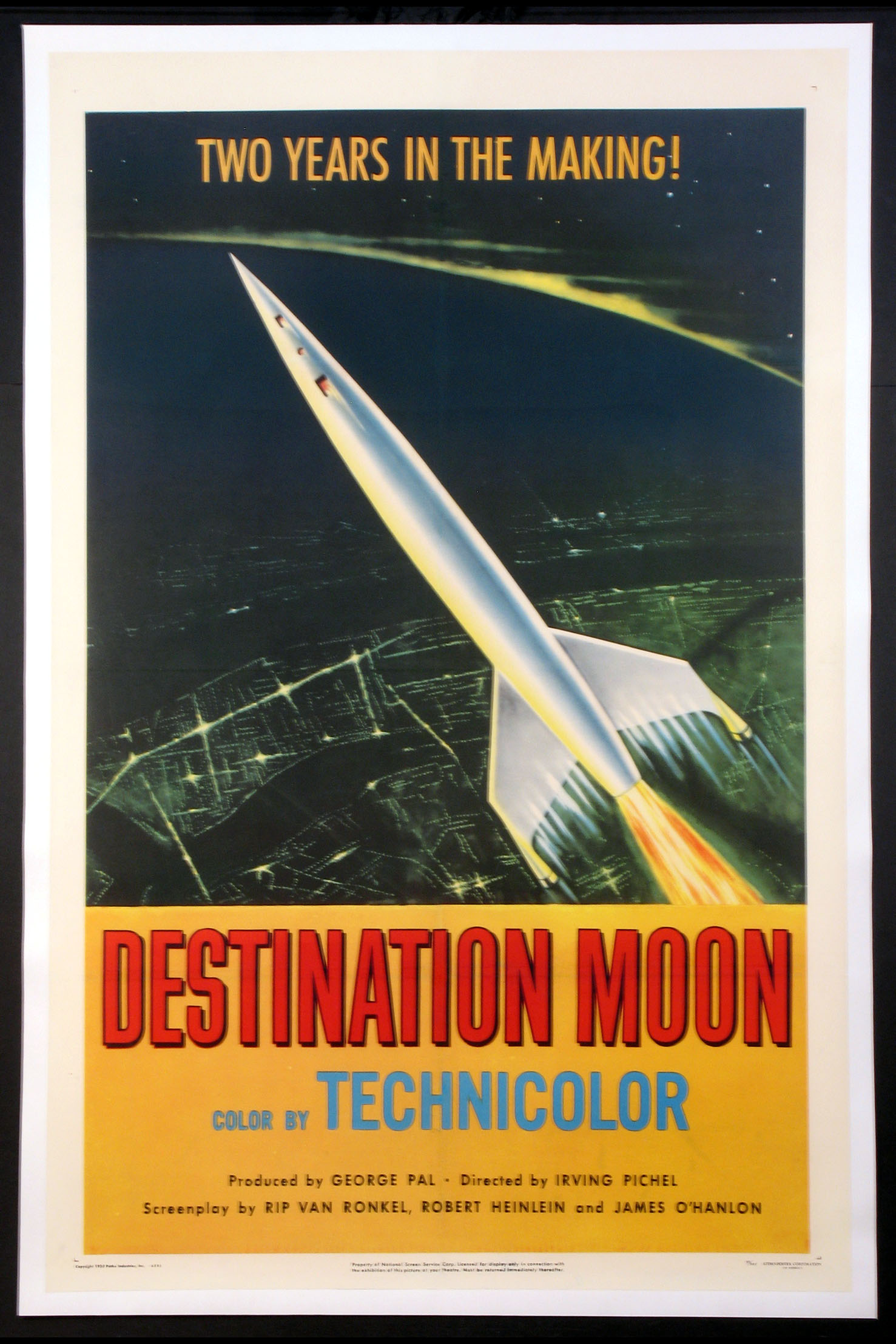 DESTINATION MOON @ FilmPosters.com