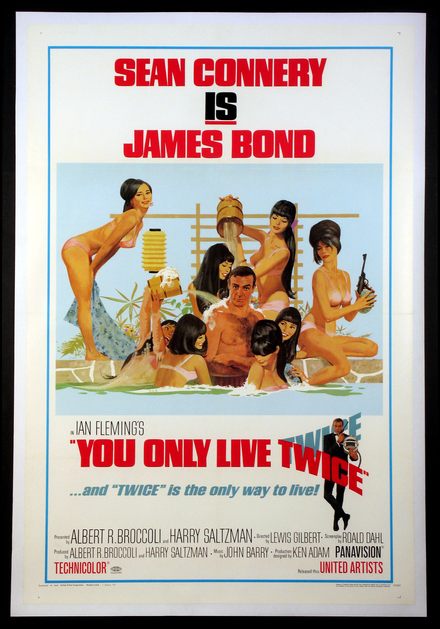 YOU ONLY LIVE TWICE (James Bond) @ FilmPosters.com