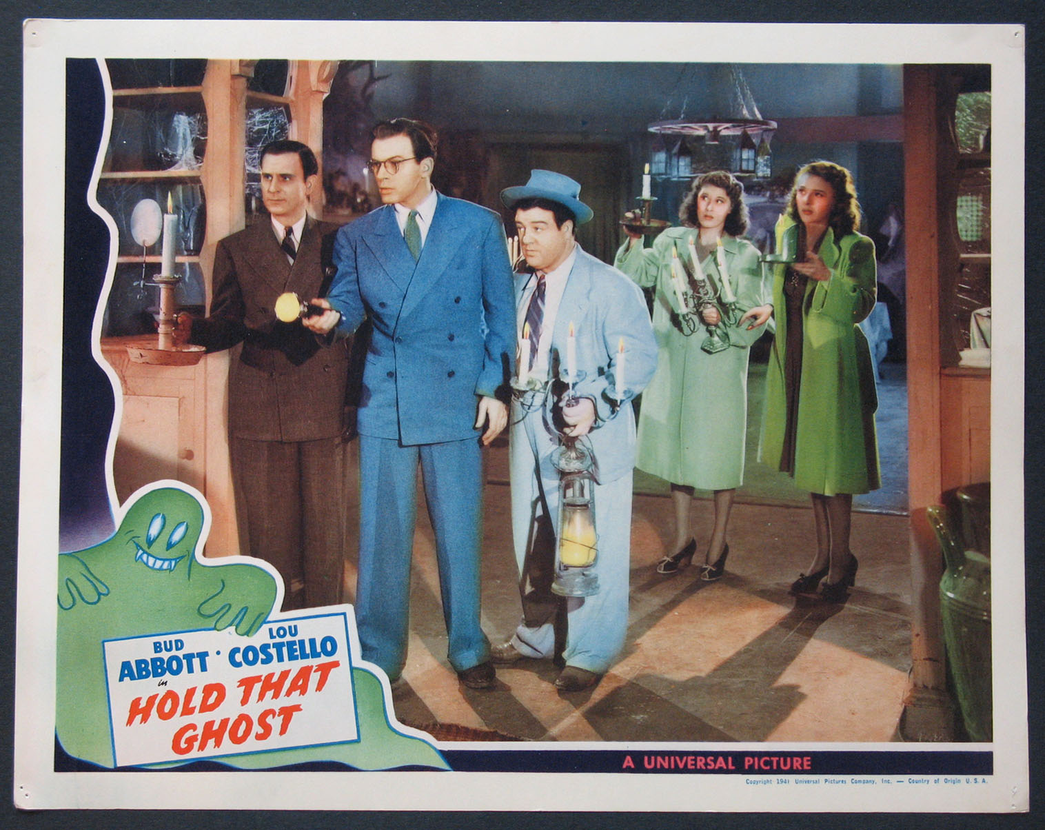 HOLD THAT GHOST (Abbott and Costello) @ FilmPosters.com