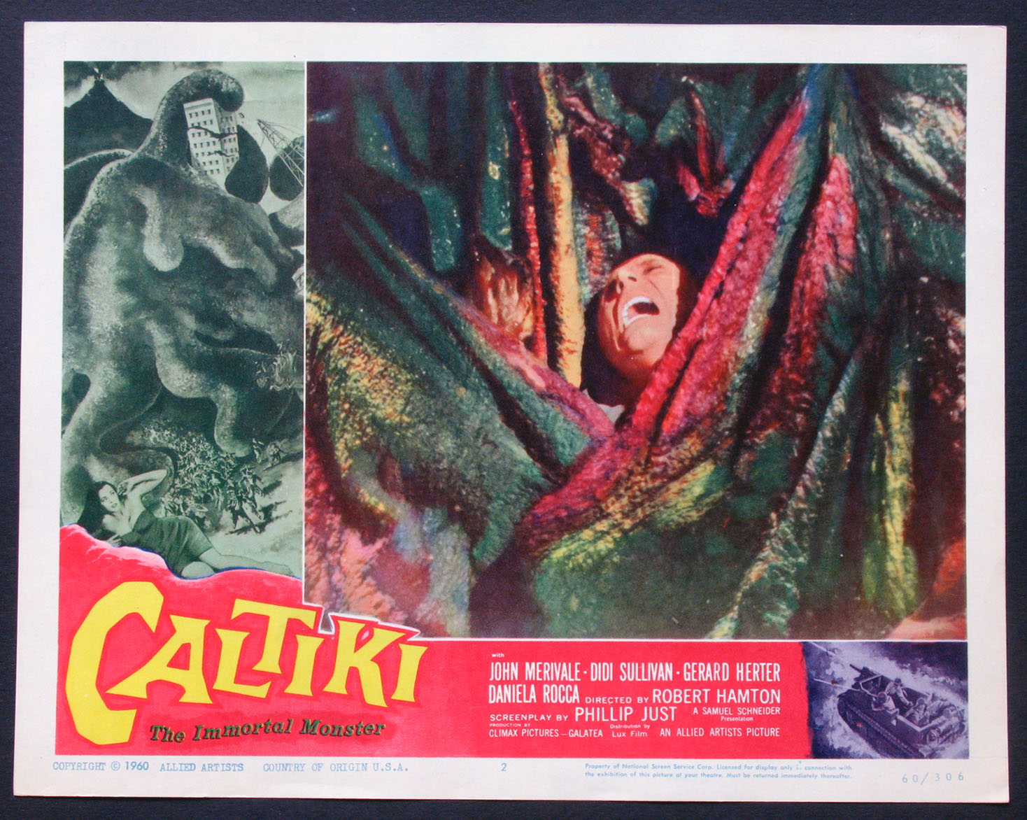 CALTIKI, The Immortal Monster @ FilmPosters.com