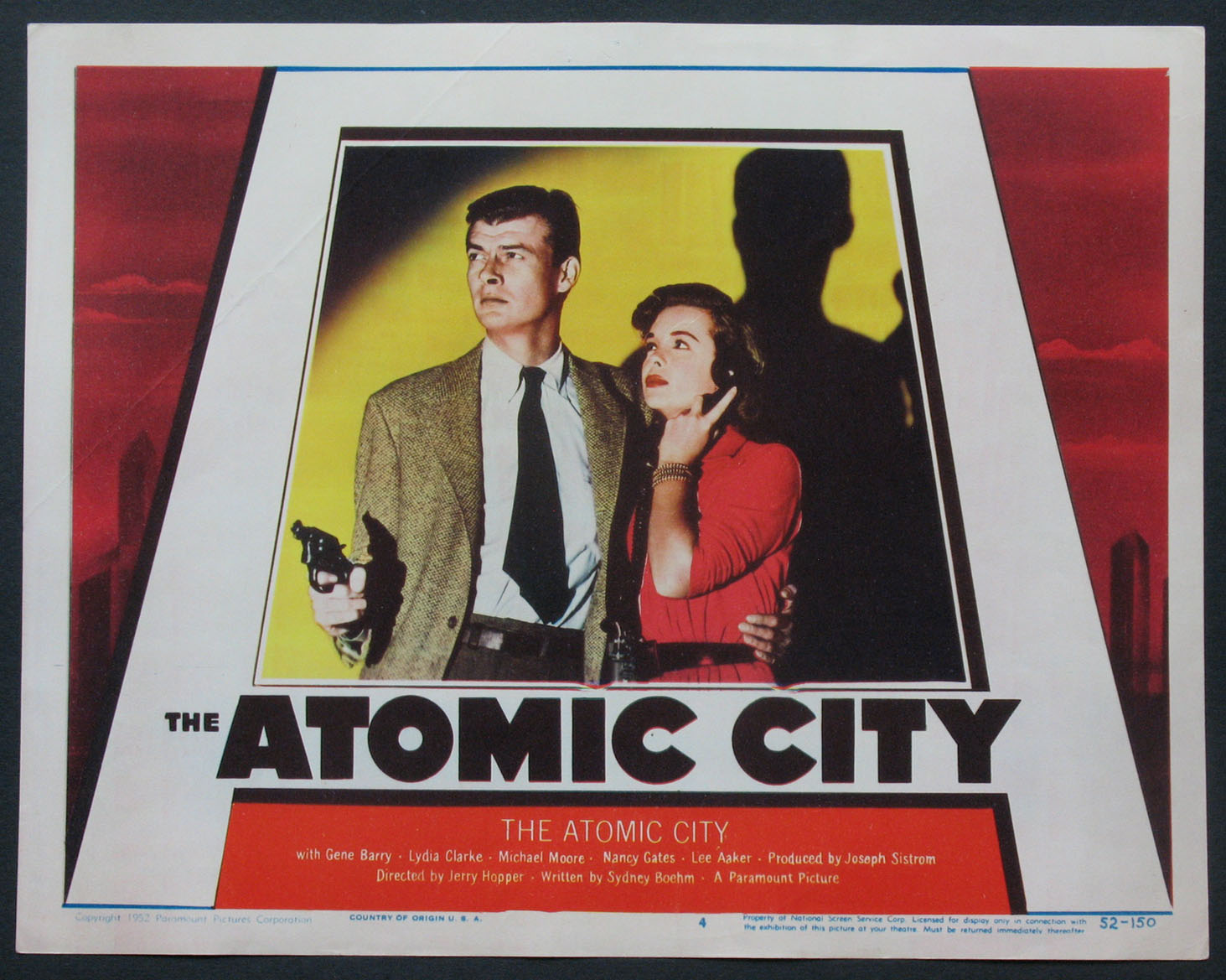 ATOMIC CITY @ FilmPosters.com