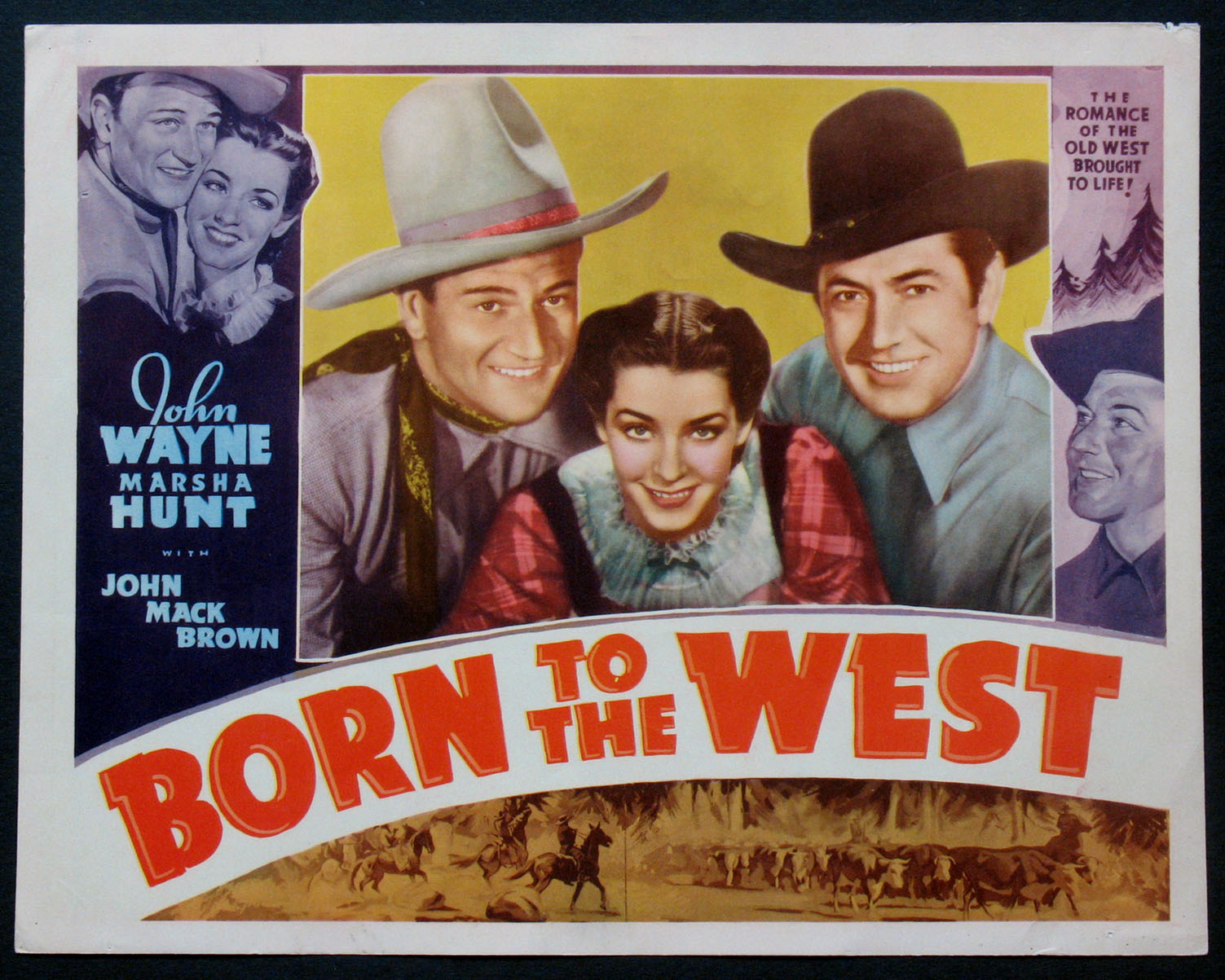 BORN TO THE WEST @ FilmPosters.com