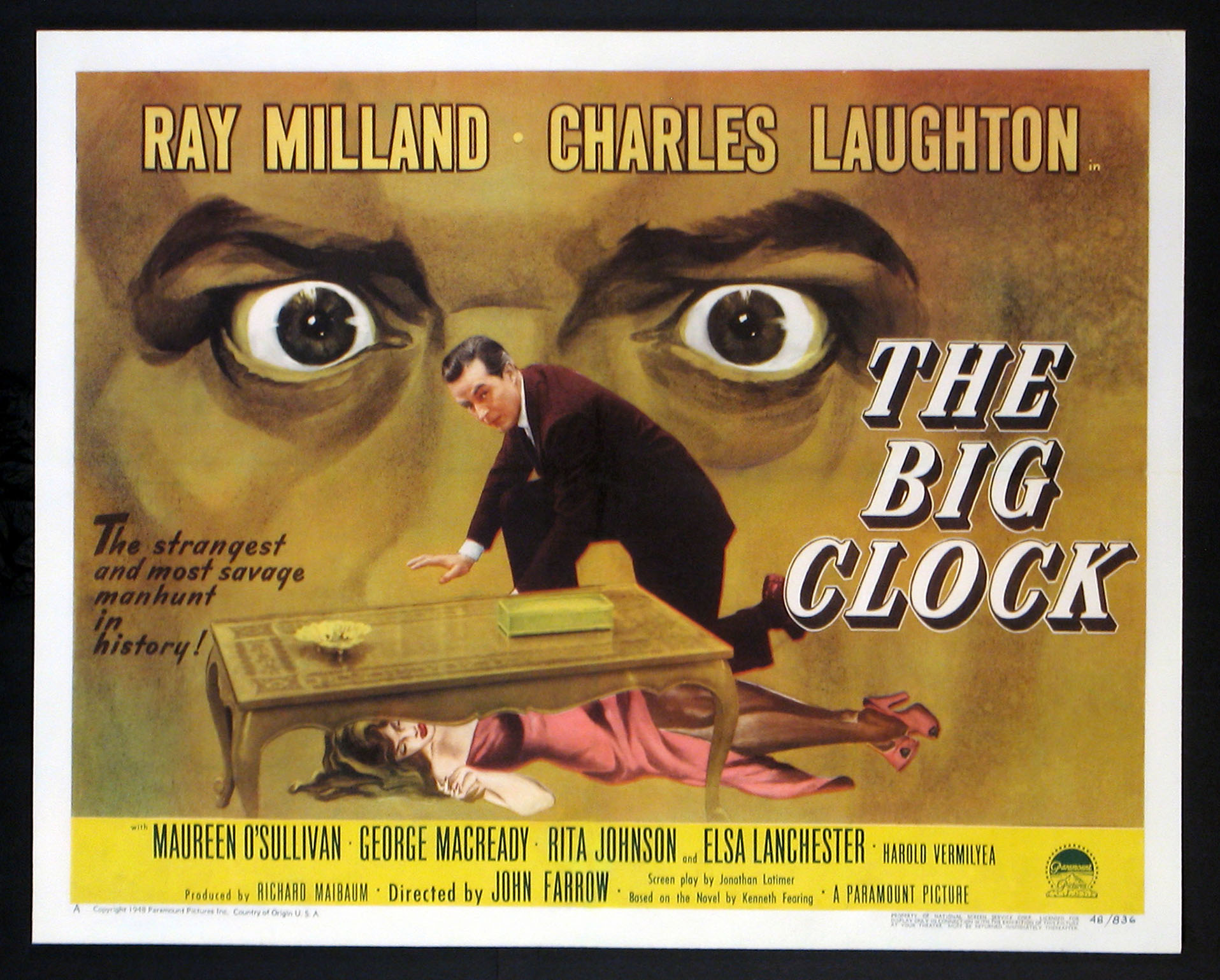 BIG CLOCK, THE (The Big Clock) @ FilmPosters.com