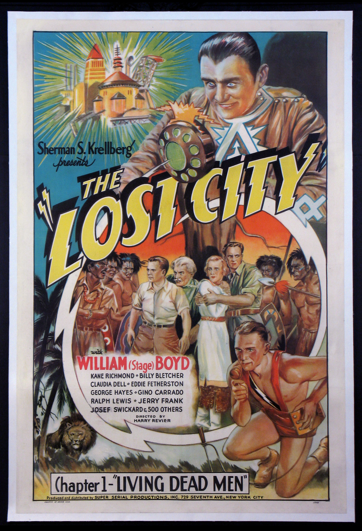 LOST CITY of the Legurian @ FilmPosters.com