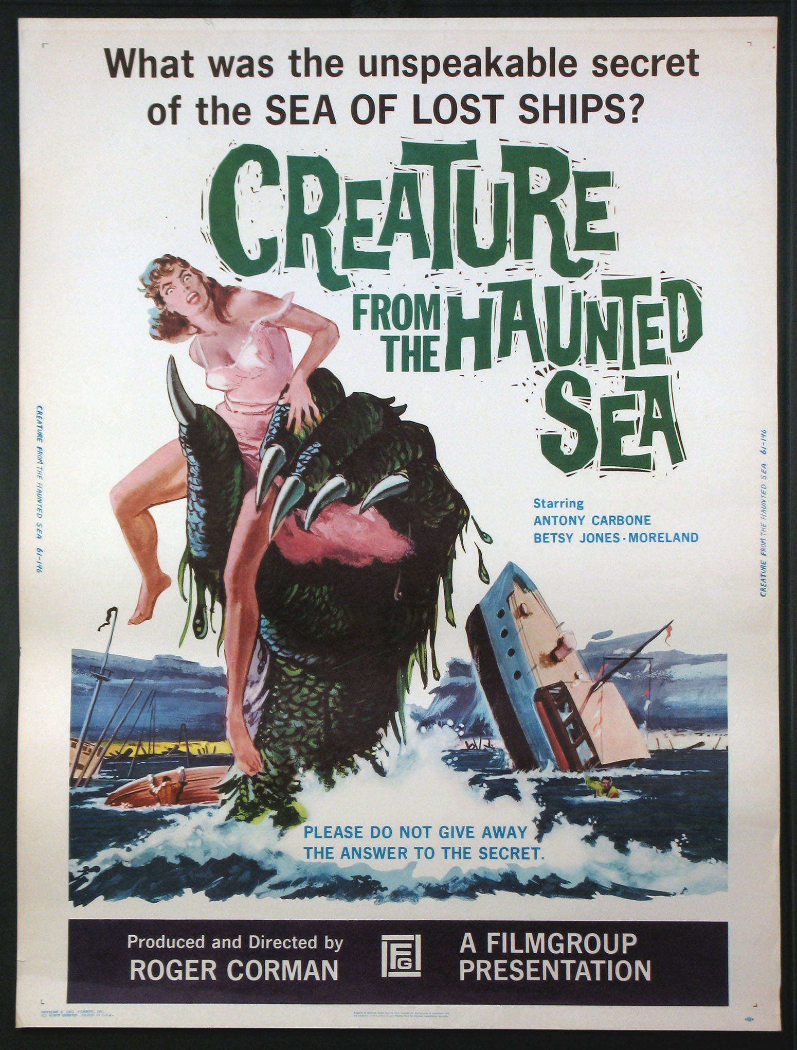 CREATURE FROM THE HAUNTED SEA @ FilmPosters.com