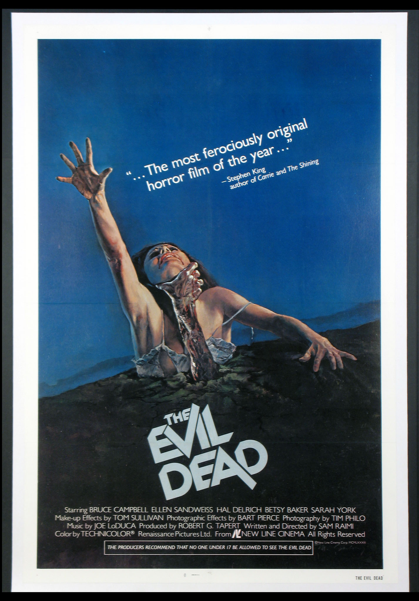 EVIL DEAD, THE (The Evil Dead) @ FilmPosters.com