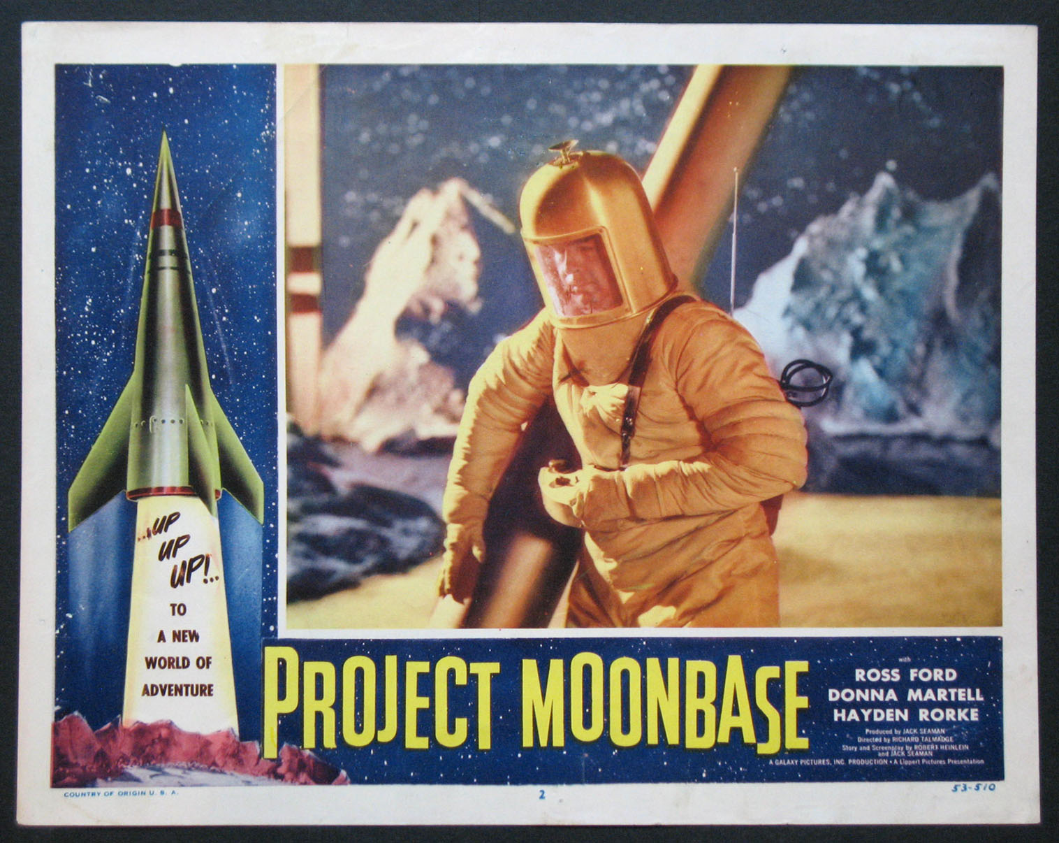 PROJECT MOONBASE @ FilmPosters.com