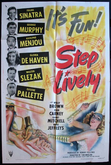 STEP LIVELY @ FilmPosters.com