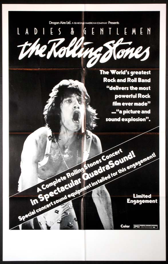 LADIES AND GENTLEMEN THE ROLLING STONES (Ladies & Gentlemen, the Rolling Stones) @ FilmPosters.com
