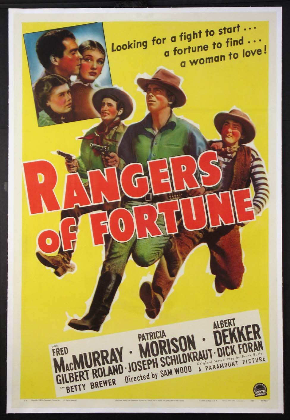 RANGERS OF FORTUNE @ FilmPosters.com
