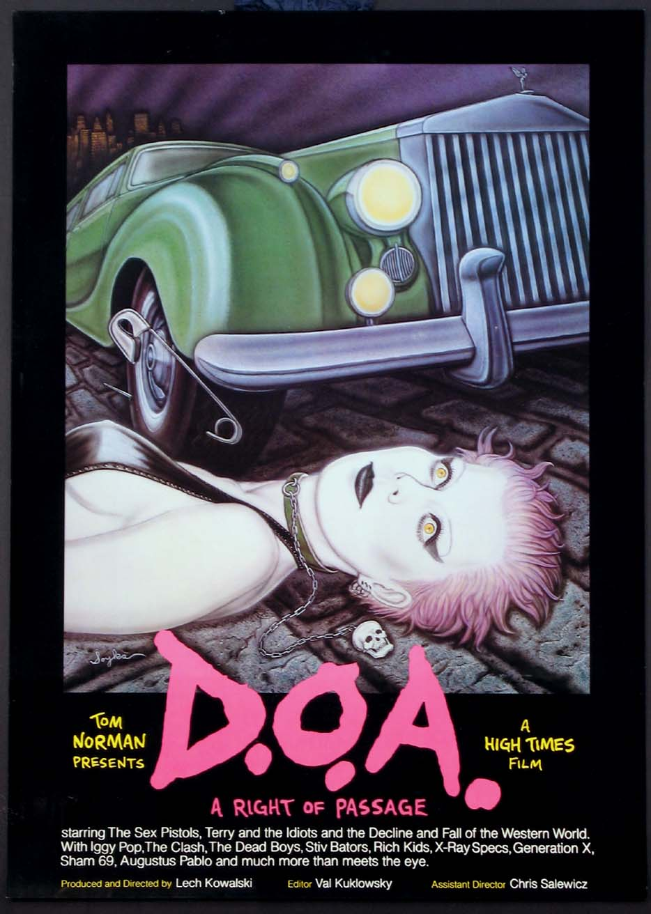 D.O.A. - A RIGHT OF PASSAGE @ FilmPosters.com