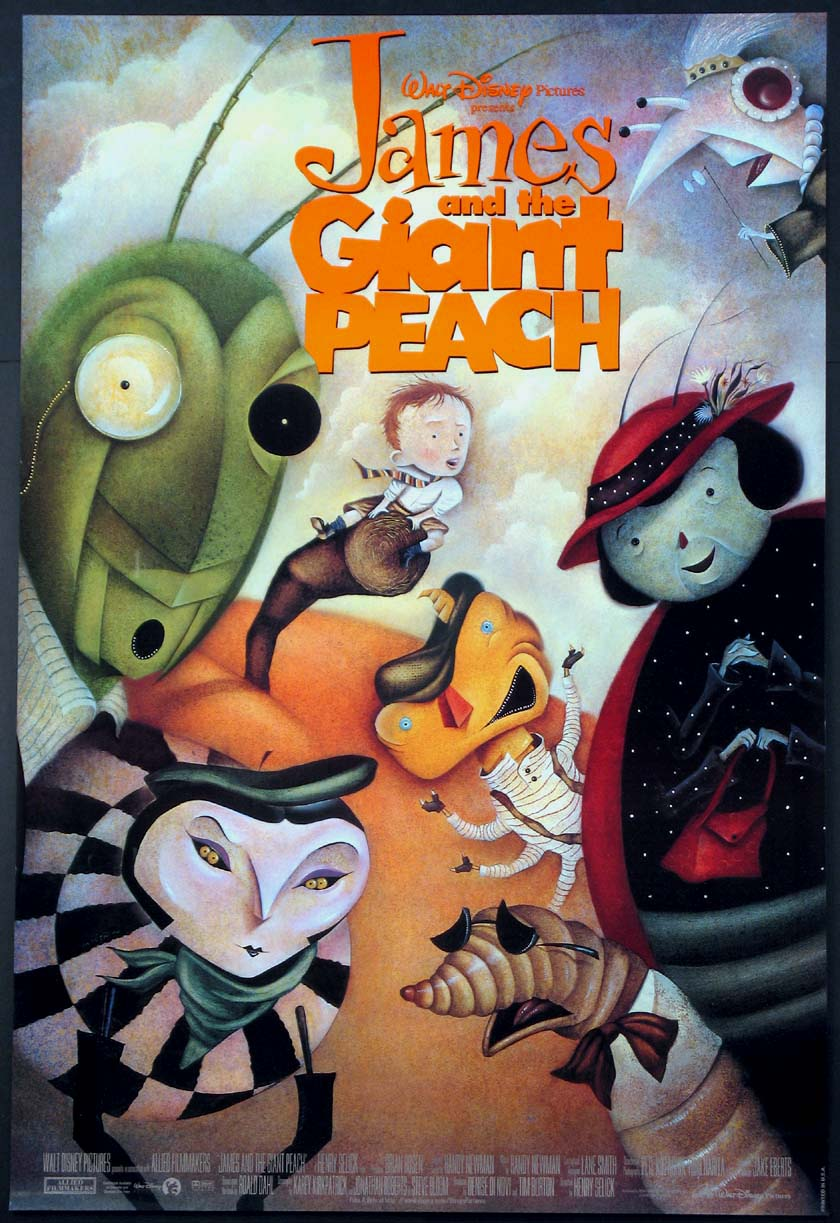 JAMES AND THE GIANT PEACH @ FilmPosters.com
