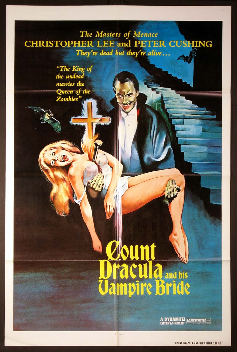 COUNT DRACULA AND HIS VAMPIRE BRIDE [aka Satanic Rites of Dracula] @ FilmPosters.com