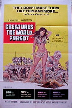 CREATURES THE WORLD FORGOT @ FilmPosters.com