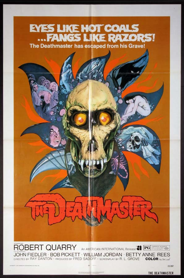 DEATHMASTER, THE @ FilmPosters.com