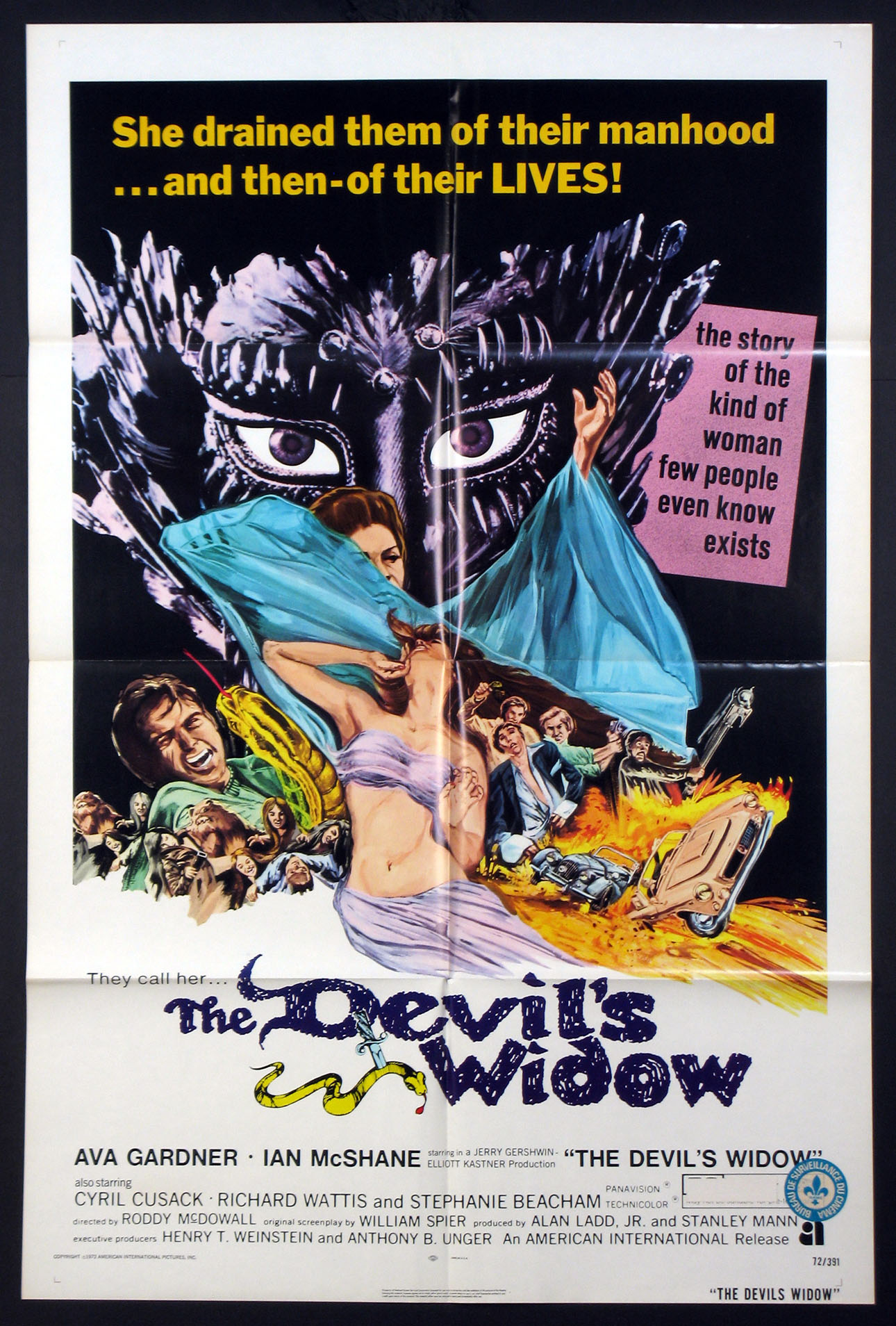 DEVIL'S WIDOW, THE @ FilmPosters.com