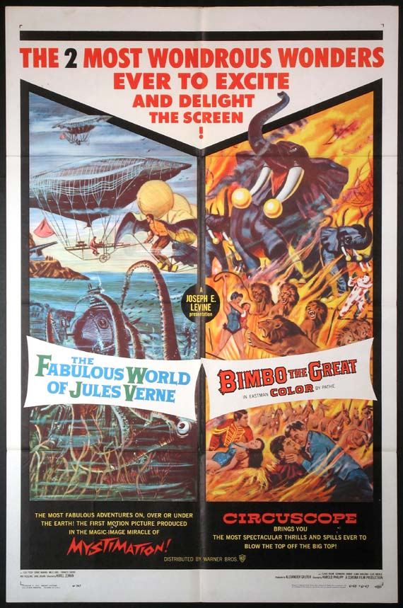 FABULOUS WORLD OF JULES VERNE / BIMBO THE GREAT @ FilmPosters.com