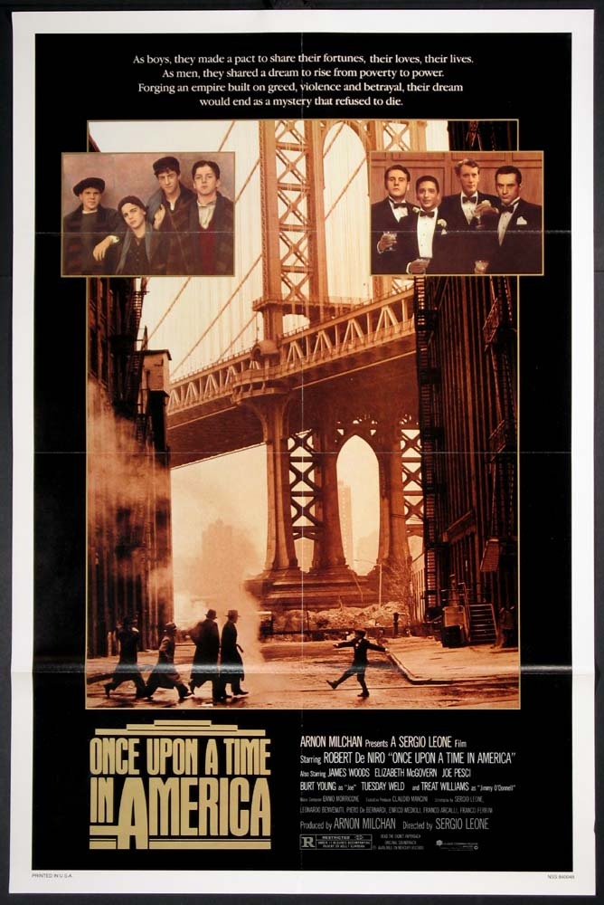 ONCE UPON A TIME IN AMERICA @ FilmPosters.com