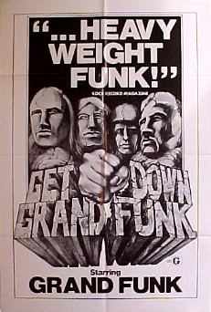 GET DOWN GRAND FUNK @ FilmPosters.com