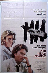 MEAN SEASON, THE @ FilmPosters.com