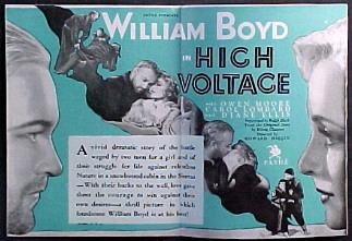 HIGH VOLTAGE @ FilmPosters.com