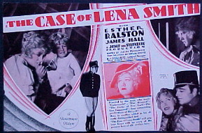CASE OF LENA SMITH @ FilmPosters.com