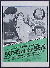 SONS OF THE SEA (aka Old Ironsides) @ FilmPosters.com